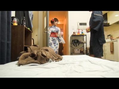 【女子大生 sex】浴衣の女子大生のsex隠し撮りプレイエロ動画!!【FC2動画】