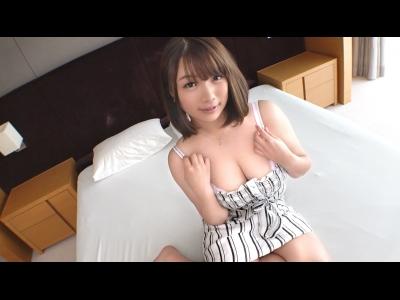 スケベなエロい巨乳の女の初撮りパイズリプレイがエロい!【FC2動画】